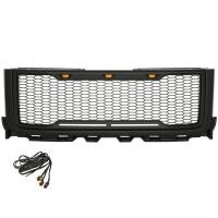 Paramount Automotive - ABS LED Matte Black Impulse Packaged Grille #41-0182MB - Image 4