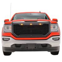 Paramount Automotive - ABS LED Matte Black Impulse Packaged Grille #41-0194MB - Image 4