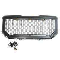 Paramount Automotive - ABS LED Matte Black Impulse Packaged Grille #41-0194MB - Image 6