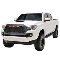 Paramount - ABS LED Metallic Charcoal Gray Impulse Mesh Packaged Grille #41-0171MCG - Image 1