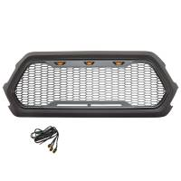 Paramount - ABS LED Metallic Charcoal Gray Impulse Mesh Packaged Grille #41-0171MCG - Image 4