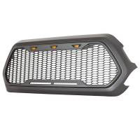 Paramount - ABS LED Metallic Charcoal Gray Impulse Mesh Packaged Grille #41-0171MCG - Image 5