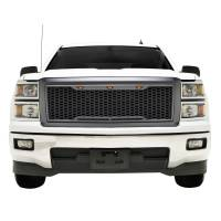 Paramount - ABS LED Metallic Charcoal Gray Impulse Mesh Packaged Grille #41-0174MCG - Image 2