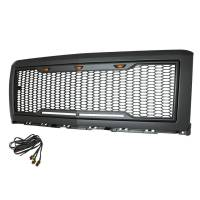 Paramount - ABS LED Metallic Charcoal Gray Impulse Mesh Packaged Grille #41-0174MCG - Image 4