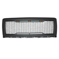 Paramount - ABS LED Metallic Charcoal Gray Impulse Mesh Packaged Grille #41-0174MCG - Image 5
