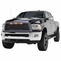 Paramount Automotive - ABS LED Metallic Charcoal Gray Impulse Mesh Packaged Grille #41-0175MCG - Image 1