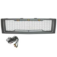 Paramount - ABS LED Metallic Charcoal Gray Impulse Mesh Packaged Grille #41-0177MCG - Image 5