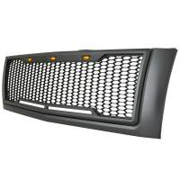 Paramount Automotive - ABS LED Metallic Charcoal Gray Impulse Mesh Packaged Grille #41-0177MCG - Image 6