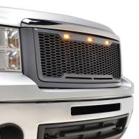 Paramount - ABS LED Metallic Charcoal Gray Impulse Mesh Packaged Grille #41-0178MCG - Image 2