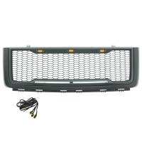Paramount - ABS LED Metallic Charcoal Gray Impulse Mesh Packaged Grille #41-0178MCG - Image 6