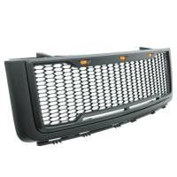 Paramount - ABS LED Metallic Charcoal Gray Impulse Mesh Packaged Grille #41-0178MCG - Image 7