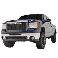 Paramount Automotive - ABS LED Metallic Charcoal Gray Impulse Mesh Packaged Grille #41-0179MCG - Image 2