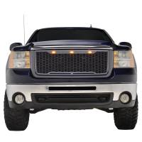 Paramount Automotive - ABS LED Metallic Charcoal Gray Impulse Mesh Packaged Grille #41-0179MCG - Image 3