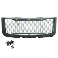 Paramount Automotive - ABS LED Metallic Charcoal Gray Impulse Mesh Packaged Grille #41-0179MCG - Image 5
