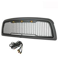 Paramount Automotive - ABS LED Metallic Charcoal Gray Impulse Mesh Packaged Grille #41-0180MCG - Image 6
