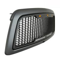 Paramount Automotive - ABS LED Metallic Charcoal Gray Impulse Mesh Packaged Grille #41-0180MCG - Image 7
