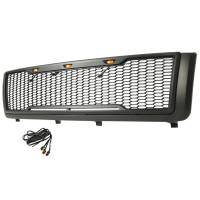 Paramount Automotive - ABS LED Metallic Charcoal Gray Impulse Mesh Packaged Grille #41-0181MCG - Image 3