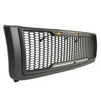 Paramount Automotive - ABS LED Metallic Charcoal Gray Impulse Mesh Packaged Grille #41-0181MCG - Image 5