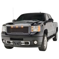Paramount - ABS LED Metallic Charcoal Gray Impulse Mesh Packaged Grille #41-0182MCG - Image 2