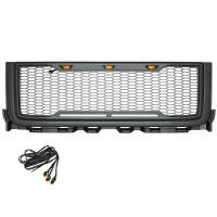 Paramount - ABS LED Metallic Charcoal Gray Impulse Mesh Packaged Grille #41-0182MCG - Image 4