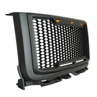 Paramount - ABS LED Metallic Charcoal Gray Impulse Mesh Packaged Grille #41-0182MCG - Image 5