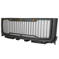 Paramount - ABS LED Metallic Charcoal Gray Impulse Mesh Packaged Grille #41-0182MCG - Image 7