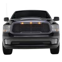 Paramount - ABS LED Metallic Charcoal Gray Impulse Mesh Packaged Grille #41-0183MCG - Image 1