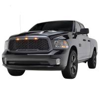 Paramount - ABS LED Metallic Charcoal Gray Impulse Mesh Packaged Grille #41-0183MCG - Image 2