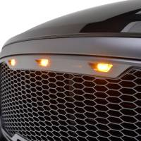 Paramount - ABS LED Metallic Charcoal Gray Impulse Mesh Packaged Grille #41-0183MCG - Image 3
