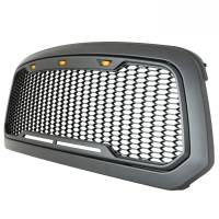 Paramount - ABS LED Metallic Charcoal Gray Impulse Mesh Packaged Grille #41-0183MCG - Image 6