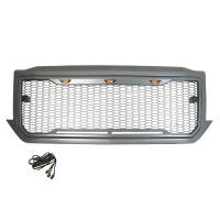 Paramount - ABS LED Metallic Charcoal Gray Impulse Mesh Packaged Grille #41-0193MCG - Image 5
