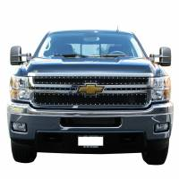 Paramount Automotive - Black Evolution Stainless Steel Wire Mesh Cutout Grille #46-0727 - Image 1