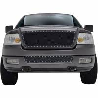 Paramount Automotive - Black Evolution Stainless Steel Wire Mesh Cutout Grille #46-0750 - Image 2
