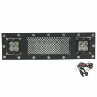 Paramount Automotive - Black Evolution Stainless Steel Wire Mesh Cutout Grille w/ LED #48-0975 - Image 2