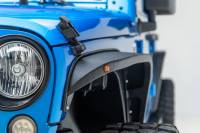 Paramount - 07-18 Jeep Wrangler JK R-5 Canyon Off-Road Narrow Front Fender Flares With LED - Image 1