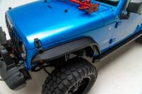 Paramount - 07-18 Jeep Wrangler JK R-5 Canyon Off-Road Narrow Front Fender Flares With LED - Image 2
