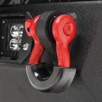 Paramount - Red D-Ring (4.75 Ton, Pair) with Black Isolator #51-0526 - Image 3
