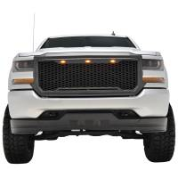 Paramount - ABS LED Matte Black Impulse Packaged Grille #41-0193MB - Image 1