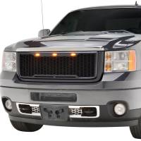 Paramount - ABS LED Matte Black Impulse Packaged Grille #41-0182MB - Image 3