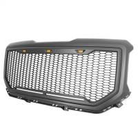 Paramount - ABS LED Metallic Charcoal Gray Impulse Mesh Packaged Grille #41-0194MCG - Image 3