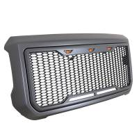 Paramount - ABS LED Metallic Charcoal Gray Impulse Mesh Packaged Grille #41-0204MCG - Image 2