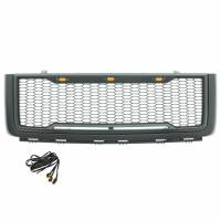 Paramount - ABS LED Metallic Charcoal Gray Impulse Mesh Packaged Grille #41-0196MCG - Image 3