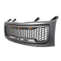 Paramount - ABS LED Metallic Charcoal Gray Impulse Mesh Packaged Grille #41-0203MCG - Image 1