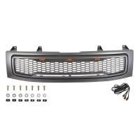 Paramount - ABS LED Metallic Charcoal Gray Impulse Mesh Packaged Grille #41-0203MCG - Image 2