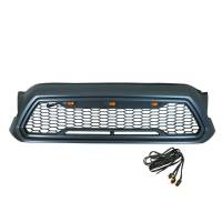 Paramount - ABS LED Metallic Charcoal Gray Impulse Mesh Packaged Grille #41-0201MCG - Image 1