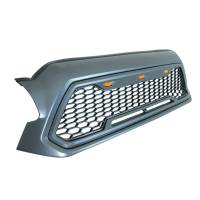 Paramount - ABS LED Metallic Charcoal Gray Impulse Mesh Packaged Grille #41-0201MCG - Image 2