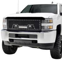 Paramount - Black Evolution Stainless Steel Wire Mesh Packaged Grille w/ LED #48-0853 - Image 3