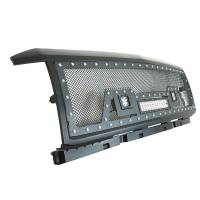 Paramount - Black Evolution Stainless Steel Wire Mesh Packaged Grille w/ LED #48-0853 - Image 8