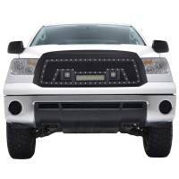 Paramount - Black Evolution Stainless Steel Wire Mesh Packaged Grille w/ LED #48-0836 - Image 1