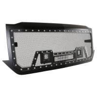 Paramount - Black Evolution Stainless Steel Wire Mesh Packaged Grille w/ LED #48-0854 - Image 9